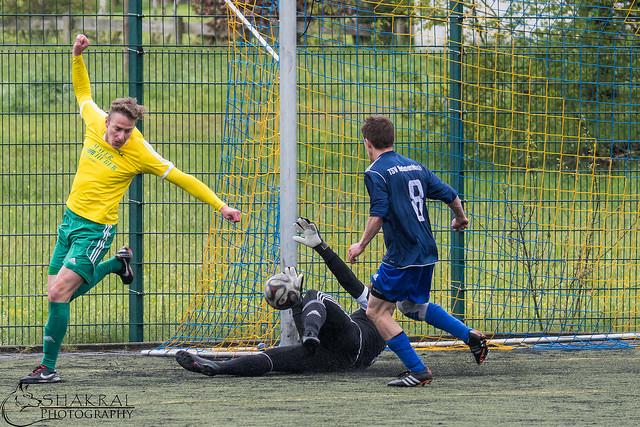 Treffer zum 4:1 für den SV Eglofs